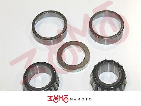 HONDA KIT CUSCINETTI STERZO CONICI PER CB350-400 FOUR-CB450/CL450 TWIN
