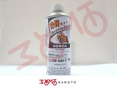 HONDA VERNICE VARNISH BLUE CB400 FOUR